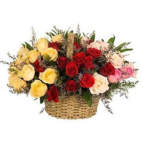 Giỏ hoa tươi - Điều Tuyệt Vời Nhất 3973