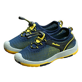 Giày Lưới Bé Trai GB02 - Xanh