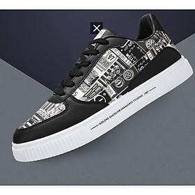 Giày nam sneaker thể thao họa tiết-6