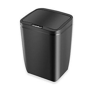 Thùng đựng rác thông minh cảm ứng 12 lít tự động đóng mở sang trọng sạch sẽ