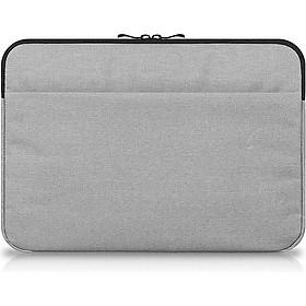 Túi Đựng Laptop Macbook Air, Pro Cao Cấp 15.6  inch Chống Sốc 2 Ngăn Hàng Chính Hãng Helios HL302