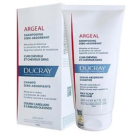 Dầu gội dạng kem cho da đầu nhờn Argeal Sebum-absorbing Treatment Shampoo Ducray 200 ml