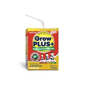 2 Thùng Sữa Bột Pha Sẵn GrowPLUS+ Đỏ 110ml Suy Dinh Dưỡng (48 Hộp x 110ml)