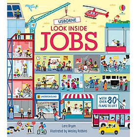 Sách Usborne Look Inside Jobs