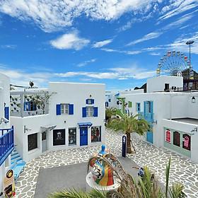 Vé Công Viên Nước Santorini Hua Hin