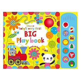 Usborne Baby's Very First BIG Play book with sound panel