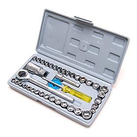 Bộ dụng cụ sửa chữa đa năng 40 chi tiết dành cho gia đình