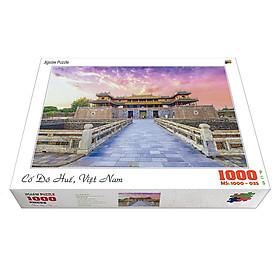 Bộ tranh xếp hình cao cấp 1000 mảnh 50x80cm – Cố Đô Huế