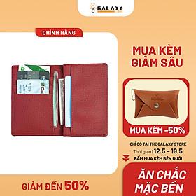 Ví Bóp Nam Nữ Thời Trang Nhỏ Gọn Cardholder Galaxy Store GVMB05 (8x12cm)
