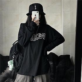 �o thun tay dài form rộng �o thun sweater UNISEX SW508