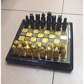 Bộ cờ vua cao cấp bằng đá nhân tạo