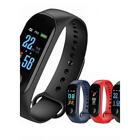 Đồng hồ thông minh đo nhịp tim, bước chân kết nối thông báo với điện thoại - Vòng tay thông minh