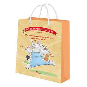 [Download Sách] Bộ Túi 2 - Bộ Sách Giáo Dục Sớm Dành Cho Trẻ Em Từ 2-8 Tuổi - Dạy Trẻ Rèn Tính Cách, Luyện Thói Quen Và Bồi Dưỡng Uớc Mơ (6 Cuốn)