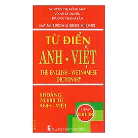 [Download Sách] Từ Điển Anh - Việt 70.000 Từ