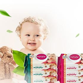 Combo 5 gói giấy ướt không mùi Mamamy mẫu mới nhất (Gói 100 tờ)-3