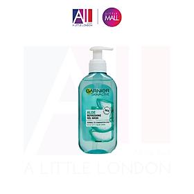 Sữa rửa mặt Garnier SkinActive Botanical Gel Wash dành cho da dầu (200ml)