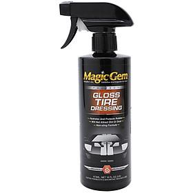 Chai Xịt Đánh Bóng Lốp Xe Gloss Tire Magic Gem G7616 (473ml)