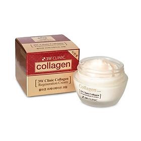 Kem dưỡng trắng da chống lão hóa Hàn Quốc cao cấp 3W Clinic Collagen Regeneration Cream (60ml) – Hàng Chính Hãng-1
