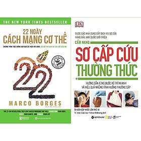 [Download sách] Combo 2 Cuốn Sách Y Học Và Sức Khỏe Cần Có Trong Tủ Thuốc Của Mọi Nhà ( 22 Ngày Cách Mạng Cơ Thể + Cẩm Nang Sơ Cấp Cứu Thường Thức ) tặng kèm bookmark Sáng Tạo