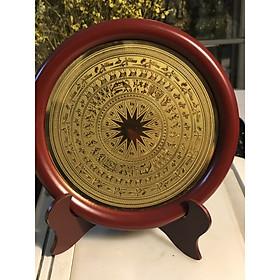 Quà tết 2020,đĩa mặt trống 18cm