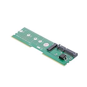 Bộ Điều Hợp DDr M.2 Ngff B-Key SSD Sang SATA Khe Cắm Mở Rộng Bo Mạch Cho Thẻ Raiser Riser 2230 2242 2260 2280 M2 SSD