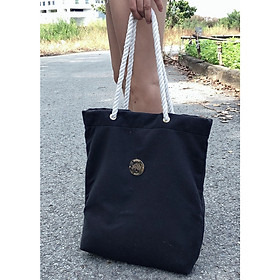 Túi xách dây thừng, chất liệu vải, kết hợp dây đeo là dây thừng, không đau vai (Nhiều phiên bản để chọn)