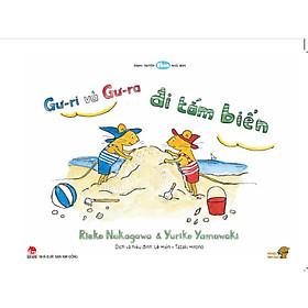 Gư-ri và Gư-ra đi tắm biển - Tranh truyện Ehon kích thích khả năng quan sát cho trẻ từ 3-6 tuổi.