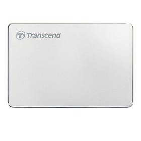 Ổ Cứng Di Động Transcend 2TB StoreJet C3S Aluminum Slim USB 3.1 - Hàng Chính Hãng