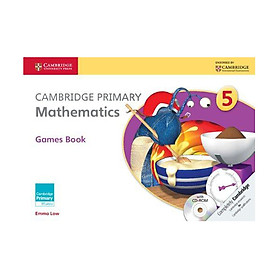 Cambridge Primary Mathematics 5: Games Book with CD-ROM