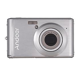Máy Ảnh Kỹ Thuật Số FHD Andoer Chống Rung Kèm 2 Pin (20MP 1080P) (8X Zoom) (2.4 inch)