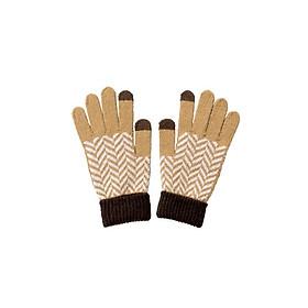 Găng tay len cảm ứng nội địa Nhật Bản - Giao màu ngẫu nhiên