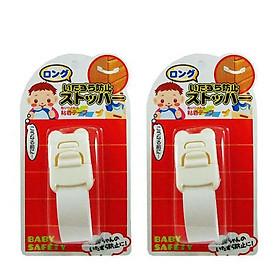 Combo 2 khóa ngăn kéo, tủ lạnh trẻ em (mẫu mới) nội địa Nhật Bản