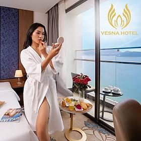 Vesna Hotel 5* Nha Trang - Đối Diện Biển, Buffet Sáng, Hồ Bơi Vô Cực, Khách Sạn Mới, Trung Tâm Đường Trần Phú