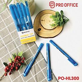 Combo 5 Bút highlight PRO-OFFICE vàng PO-HL300