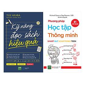 Combo Kỹ Năng Đọc Sách Hiệu Quả + Phương Pháp Học Tập Thông Minh (Tái Bản) (2 Cuốn)
