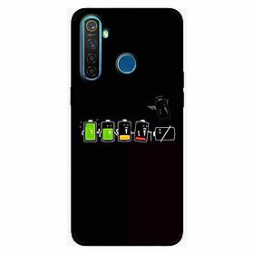 Ốp lưng in cho Realme 5 Pro / Realme Q Cạn Pin