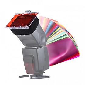 Bộ Gel Màu Cho Đèn Flash Canon Nikon YongNuo