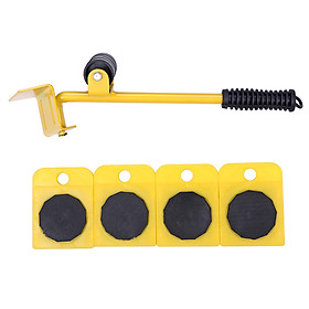 Mover heavy object mover labor saving moving tool universal wheel moving tool household fish tank base mover 5-piece