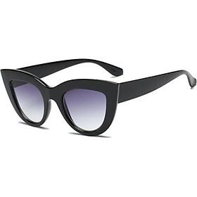 Women UV400 Luxury Oversized Cat Eye Sunglasses Fashion Vintage Style Eyewear