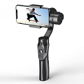 Gimbal chống rung cho điện thoại thông minh sử dụng hệ điều hành Android và IOS, 3 trục, xoay 360°, nhào lộn tùy thích, trợ lý chụp ảnh quay phim lý tưởng F6