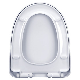 Haili (HaiLi) toilet cover universal old-fashioned toilet seat accessories thickening descending U-shaped seat cover 88090