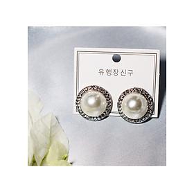 Hình đại diện sản phẩm Bông tai Hàn Quốc - Hoa tai đẹp sang chảnh - Khuyên tai đi dự tiệc, đám cưới, sinh nhật xinh xắn - Mẫu 28