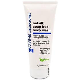 Sữa Tắm Dưỡng Ẩm, Giúp Duy Trì pH Da, Phù Hợp Da Khô, Ngứa, Nhạy Cảm - FCL Oatsilk Soap Free Body Wash - 200ml