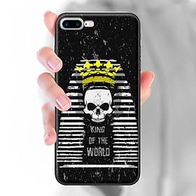 Ốp lưng dành cho iPhone 7 Plus  mẫu King of the wolrd