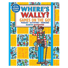 Where Wally ? Games On The Go ! Puzzles , Activities and Searches