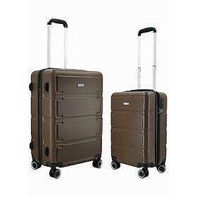 Bộ 2 vali nhựa kéo du lịch TRIP P806 size 20+24inch