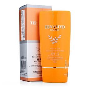 Kem chống nắng trà xanh SPF 42,PA++ - Tenamyd- GREEN TEA PROTECTIVE SUNSCREEN SPF42/PA++ - Tube/70ml