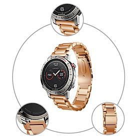 〖Follure〗Stainless Steel Bracelet Smart Watch Band Strap For Garmin Fenix Chronos