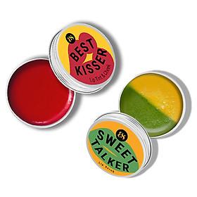 Combo son dưỡng có màu BareSoul Best Kisser Lip Tint & Cheek 10g + Son tẩy tế bào chết Sweet Talker Lip Scrub 20g