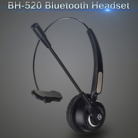 Wireless Head-mounted Bluetooth Headset BH520 With Mic Noise-Canceling Headset NEW